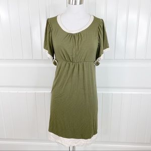 Ella Moss Sprouse Wide Sleeve Mini Dress